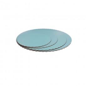 Base Redonda Azul Celeste 25cm (3mm alto)