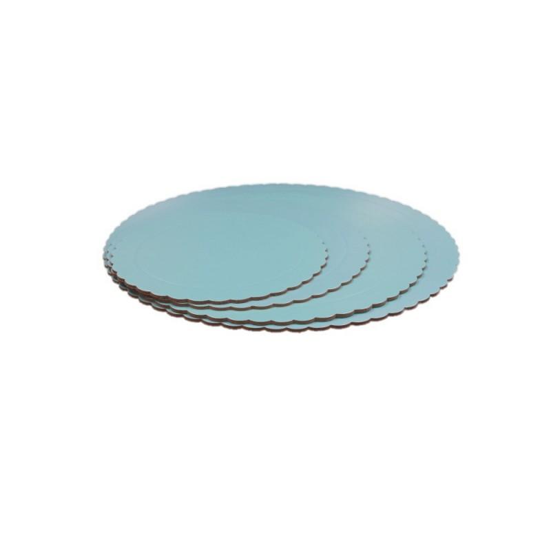Base Redonda Azul Celeste 35cm (3mm alto)