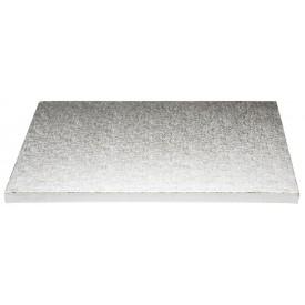 Base Rectangular Plata 45x40cm (12mm alto)