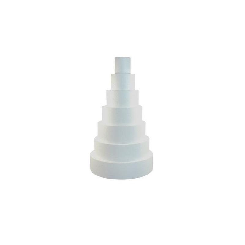 Dummie Redondo de 25 cm. de diámetro x 10 cm. de altura