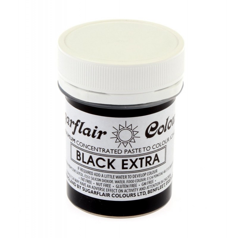 Colorante Sugarflair Extra Black 42gr