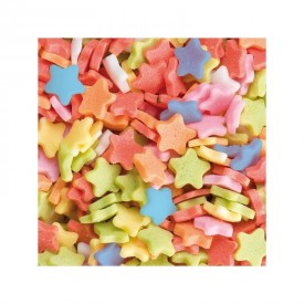 Estrellas de Azúcar Multicolor (100g)