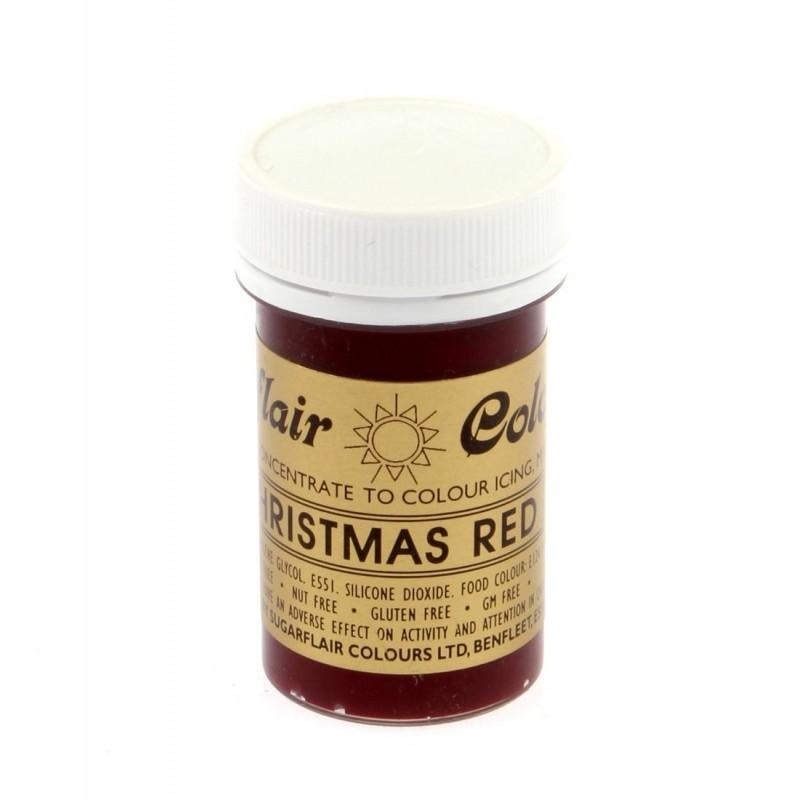 Colorante Sugarflair Rojo Navidad 25gr
