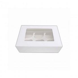 Caja para 6 Cupcakes con ventana Tartadictos