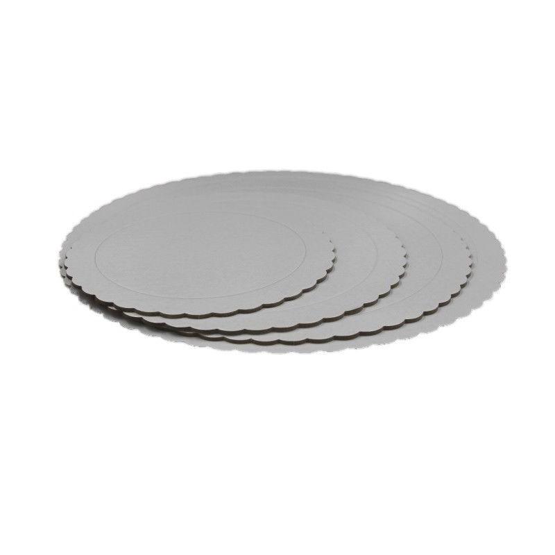 Base redonda blanca 20 cm. (3 mm.)