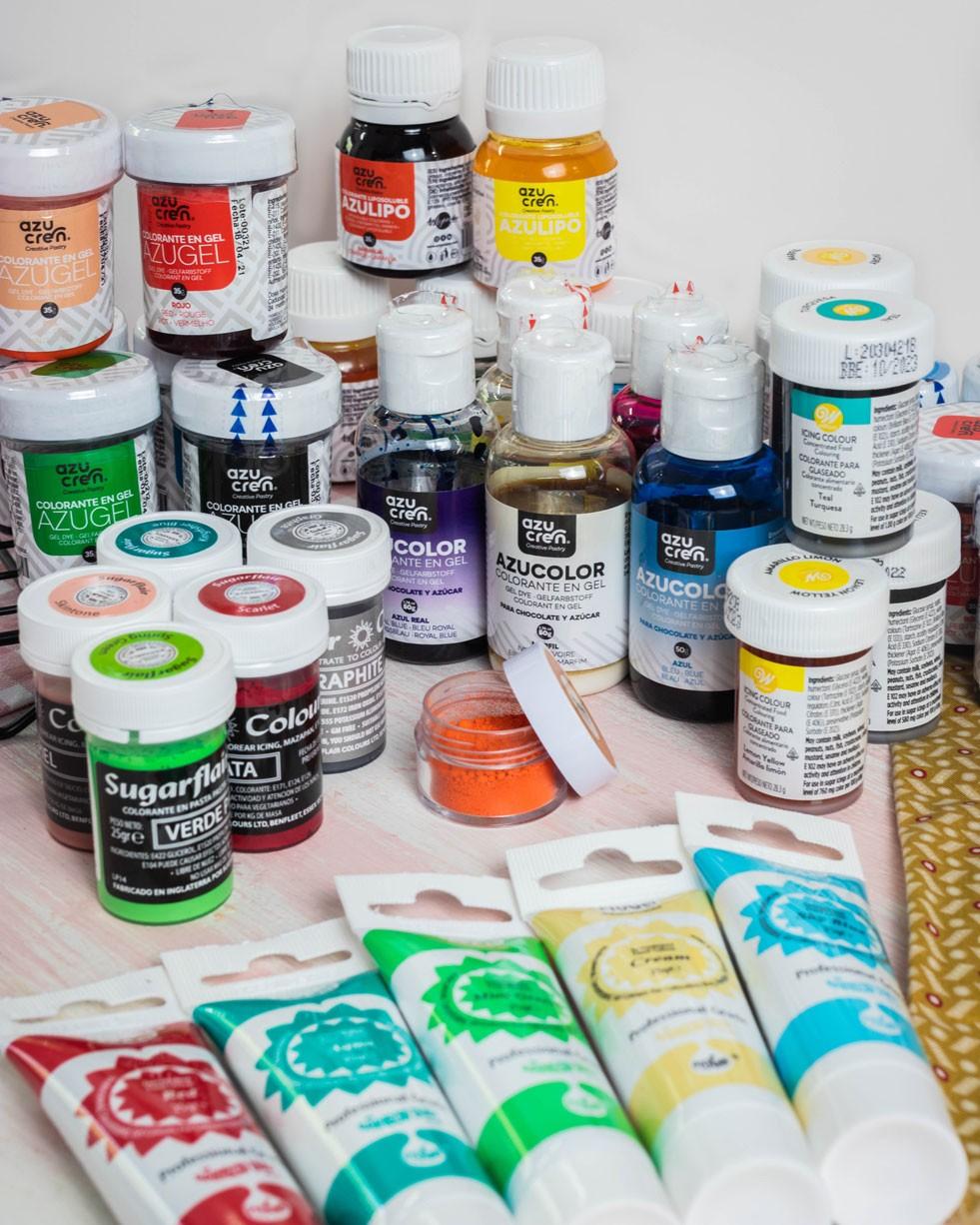 Colorantes alimentarios para repostería |Tartadictos