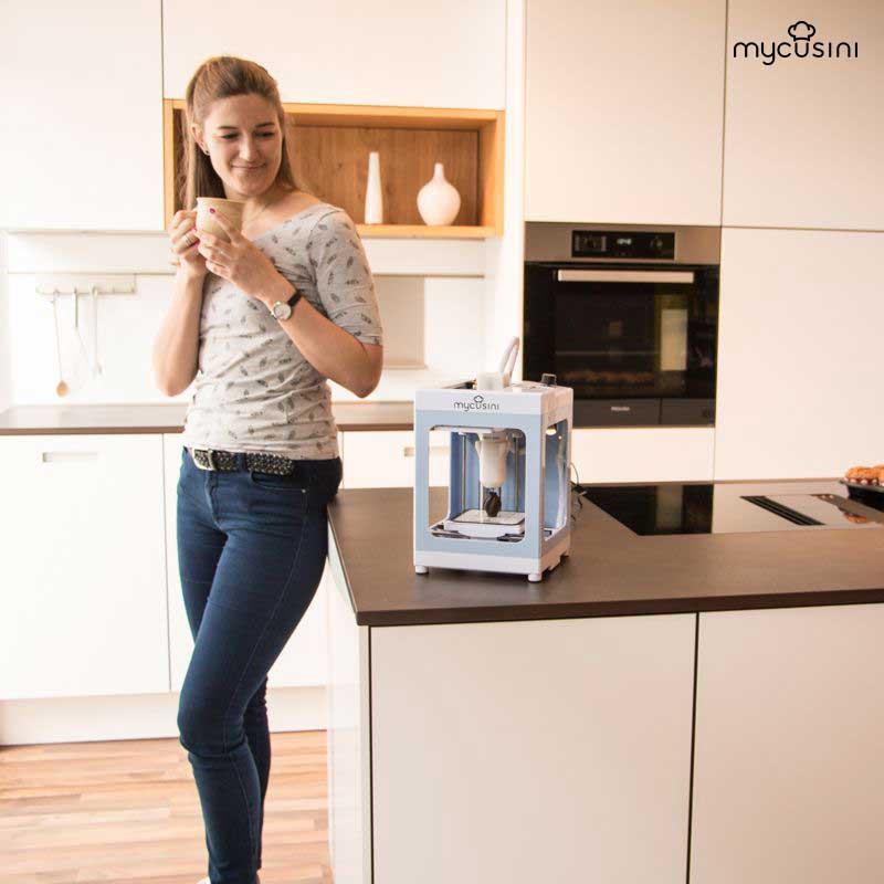Impresora 3D para chocolate | Mycusini 3D Choco Printer